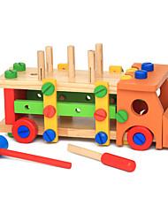 Bausteine Bildungsspielsachen Spielzeugautos Spielzeuge LKW Stücke Kinder Geschenk