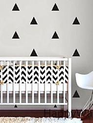 40 Mini Triangles Wall Sticker Kids Room Wall Decoration adesivo de paredes Decals Home Decor DIY Peel And Stick Art 5cm