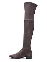 economico -Per donna Scarpe Raso elasticizzato Inverno Autunno Club Shoes Alla schiava Innovativo Comoda Stivaletti Footing Piatto Punta tonda per