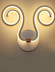 Modern Simple LED Integrated Aluminum Wall Lamp Creative Aisle Bedside Lamps Lighting