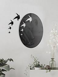 Formas Adesivos de Parede Autocolantes de Parede Espelho Autocolantes de Parede Decorativos,Vidro Material Decoração para casa Decalque