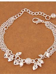 Femme Charmes pour Bracelets Mode bijoux de fantaisie Alliage Forme de Coeur Bijoux Pour Soirée
