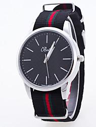 cheap -Women's Sport Watch Dress Watch Fashion Watch Wrist watch Large Dial Quartz Fabric Band Charm Multi-Colored