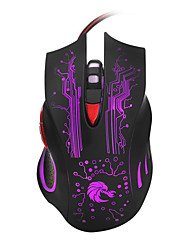 cheap -HXSJ Wired Gaming Mouse DPI Adjustable Backlit 1200/1600/2400/3200/5500