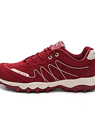 LEIBINDI Sneakers Hiking Shoes Running Shoes Men's Anti-Slip Anti-Shake/Damping Wearproof Outdoor Low-Top Nubuck leather Perforated EVA