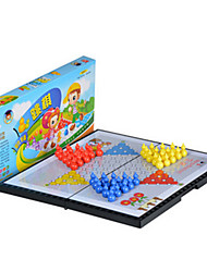 cheap -Board Game Chess Game Halma Toys Large Size Circular Duck Plastic Pieces Kids Unisex Gift
