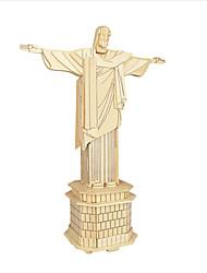 Недорогие -Набор для творчества 3D пазлы Пазлы Пазлы и логические игры Игрушки Знаменитое здание Китайская архитектура Игрушки Муж. Жен. Детские