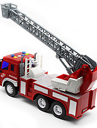 cheap -Toys Fire Engine Vehicle Toys Pull Back Vehicles Fire Engines Plastic Pieces Children's Gift