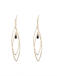 Women's Drop Earrings Fashion Euramerican Pearl Alloy Oval Jewelry For Wedding Party Daily Casual Sports