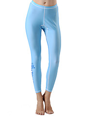 cheap -Women's Dive Skin Leggings Ultraviolet Resistant Tactel Lycra Terylene Bottoms Beach