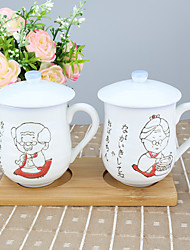 Zeichentrick Trinkbecher, 210 ml Boyfriend Geschenk Freundin Geschenk Porcelana Tee KaffeeGläser und Tassen für den täglichen Gebrauch