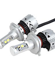 cheap -H4 36W/2Pcs 7200LM LED Headlight KIT HIGH LOW Beam Replace Halogen Xenon