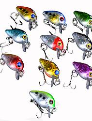 10 pc Esca Trota arcobaleno g Oncia mm pollice,Plastica Pesca di mare