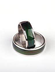 preiswerte -Damen Ring Personalisiert Einzigartiges Design Modisch Edelstahl Kreisförmig Schmuck Hochzeit Party Besondere Anlässe Alltag Normal