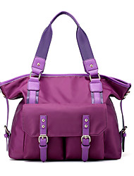 cheap -Women Bags Nylon Tote for Event/Party Casual Spring Summer Fall Blue Black Violet