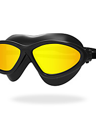cheap -Swimming Goggles Anti-Fog Anti-Wear Waterproof Scratch-resistant Shatter-proof Silica Gel PC Yellow White Red Black Gray