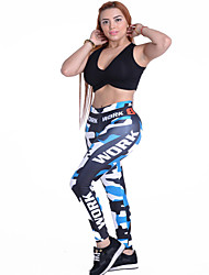 Women's Running Pants Breathable Leggings Bottoms for Yoga Exercise & Fitness Running Polyester Slim S M L XL