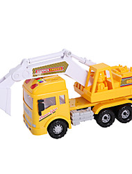 Pull Back Car/Inertia Car Toy Cars Toys Construction Vehicle Excavator Toys Excavating Machinery ABS Pieces Unisex Gift