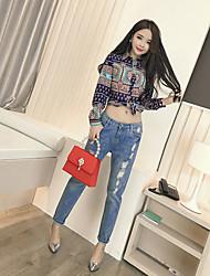 Spring new Korean fashion Slim thin wild color shirt long-sleeved shirt real shot