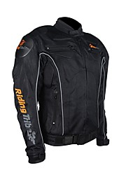 cheap -RidingTribe Jacket Nylon PU Leather All Season Breathable Windproof Motorcycle Kidney Belts