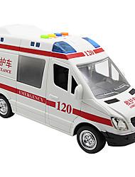 Carrinho de Fricção Carros de brinquedo Brinquedos Ambulância Brinquedos Carro Metal 1 Peças Rapazes Dom