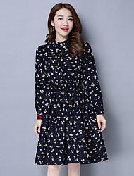 знак вельвет платье 2017 весной новый тонкий печати платье уникальной мода дикого