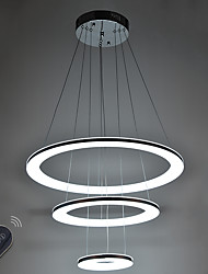 cheap -46W LED Acrylic Pendant Light Indoor Home Deco Lighting Fixtures  with Remote Control