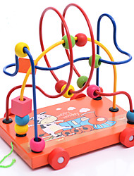 cheap -Toy Cars Building Blocks Toy Abacus Educational Toy Toys Education Wooden Wood Children's Boys' Girls' Pieces