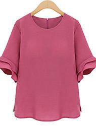cheap -Women's Daily Casual All Seasons Shirt