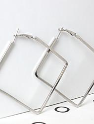 cheap -Women's Drop Earrings - Geometric / Fashion Gold / Silver Square Earrings For Daily