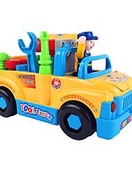 Недорогие -Игрушечные машинки Playsets автомобиля Обучающая игрушка Грузовик Строительная техника Игрушки Электрический Автомобиль Грузовик Куски