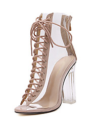 Women's Heels Spring / Summer / Fall / Winter Gladiator / Comfort / Novelty Leatherette Wedding / Party & Evening / Dress / Casual