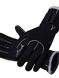 cheap -Sports Gloves / Diving Gloves 3mm Rubber Full-finger Gloves Keep Warm, Anti-skidding Diving