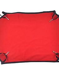 preiswerte -Katze Hund Betten Haustiere Decken Tragbar Klappbar Atmungsaktiv Weich Gelb Rot Rosa Für Haustiere