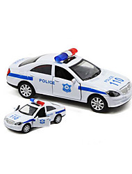 Die-Cast Vehicles Pull Back Vehicles Toy Cars Police car Toys Car Metal Alloy Plastic 1 Pieces Children's Gift