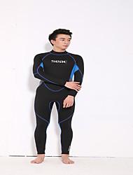 Недорогие -HISEA® Муж. 3mm Гидрокостюмы Гидрокостюм мокрого типа Удобный Защита от солнечных лучей LYCRA® Водолазный костюм Длинные рукава