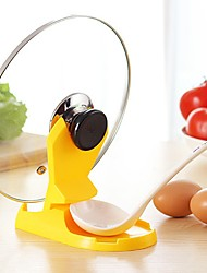 1 Pcs Spoon  Pan Pot Lid  Rack Shelf  Stand Holder Cooking Storage Kitchen Decor Tool Random Color
