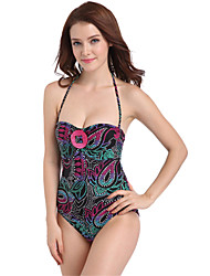 Women's Fashion Sexy Printed One-piece Swimsuits