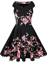cheap -Women's Daily Vintage Sheath Dress