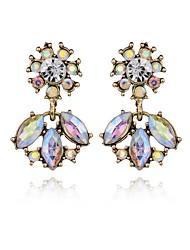 Women's Drop Earrings Crystal Geometric Costume Jewelry Crystal Alloy Geometric Jewelry For Party Daily Casual