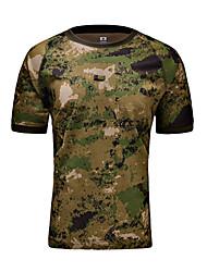 Homens Mulheres Unisexo Camiseta Blusas Caça Secagem Rápida Verão