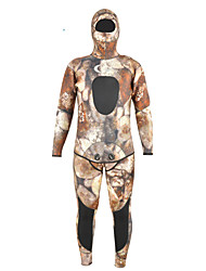 cheap -Dive&Sail Men's Full Wetsuit 5mm Diving Suit Quick Dry, Anatomic Design, Breathable Full Body - Diving Classic Fall / Winter