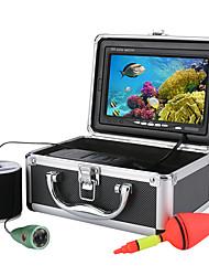 Недорогие -Подводный комплект для подводной съемки рыболовных снастей 20 м 1000 твл 6 светодиодных ламп с 7-дюймовым цветным монитором