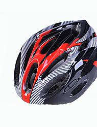 Недорогие -Мотоциклетный шлем Велоспорт 18 Вентиляционные клапаны Регулируется Экстремальный вид спорта One Piece Горные Горные велосипеды Шоссейные