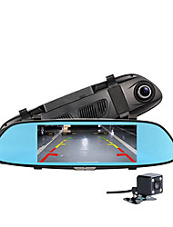 cheap -w01 Full HD 1920 x 1080 Car DVR Wide Angle 7 inch Dash Cam with G-Sensor / Parking Monitoring / motion detection Car Recorder / FCWS