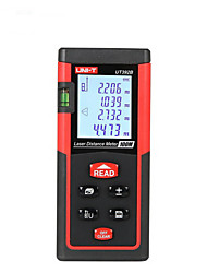 UNIT UT392B Handheld Digital 100m 635nm Laser Distance Measurer with Distance & Angle Measurement(1.5V AAA Batteries)