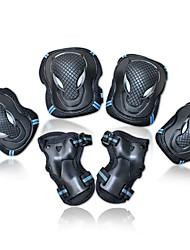 Kinder Kniebandage Ellbogen Bandage Hand & Handgelenkschiene für Eislaufen Inline-Skates Atmungsaktiv Passend für linke oder rechte