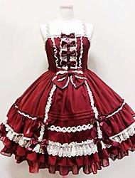 cheap -Sweet Lolita Dress Princess Women's Girls' One Piece Dress Cosplay Sleeveless