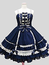 abordables -Gothique Princesse Femme Fille Robes Cosplay Mi-long