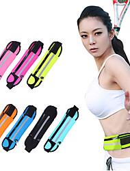 economico ->1 L Marsupi Portafogli Bag Cell Phone Borsa da palestra / Borsa da yoga Yoga Campeggio e hiking Fitness Viaggi Jogging Ompermeabile Zip
